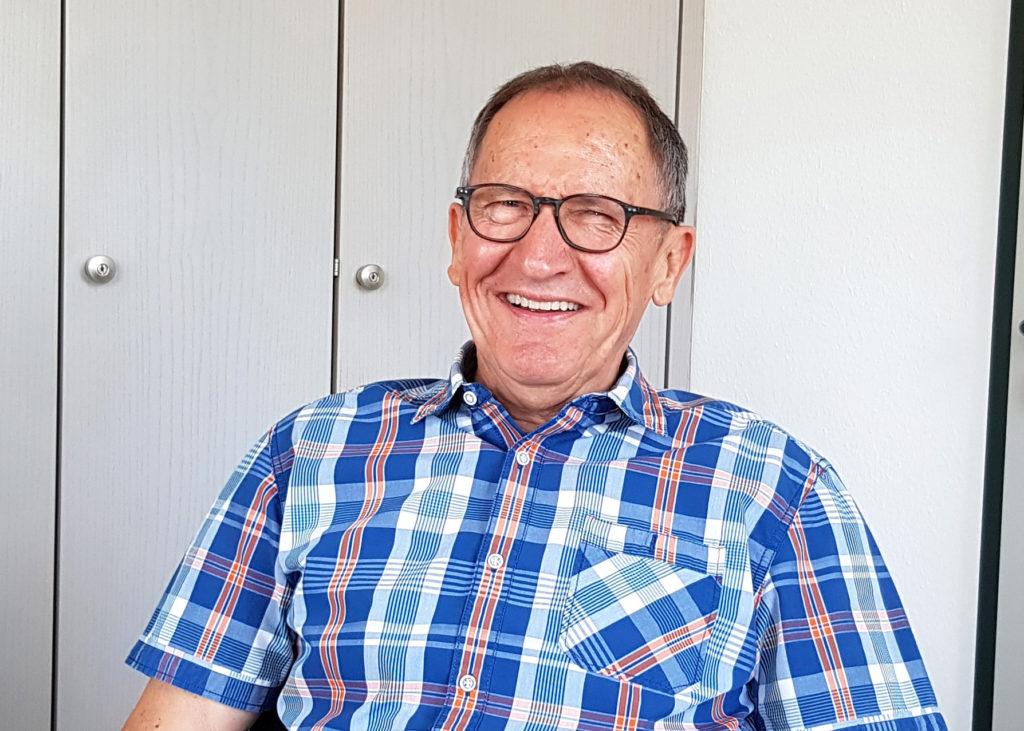 Betreut den Schreibtisch in Prüm: Rudolf Müller.