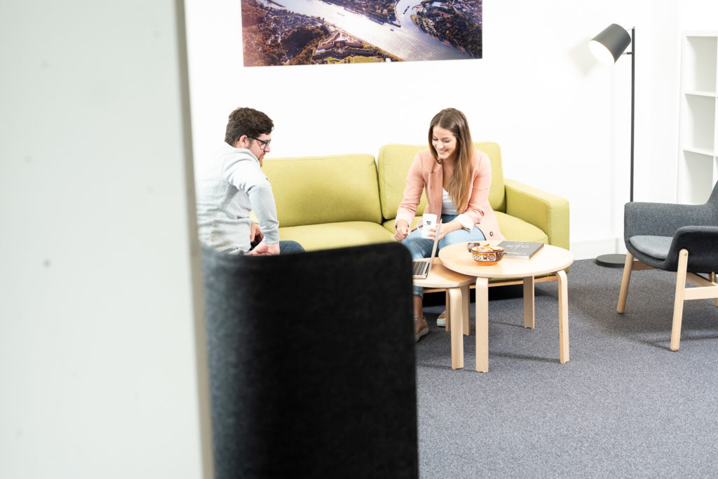 Im TechnologieZentrum Koblenz. (Foto: Manolito Röhr)